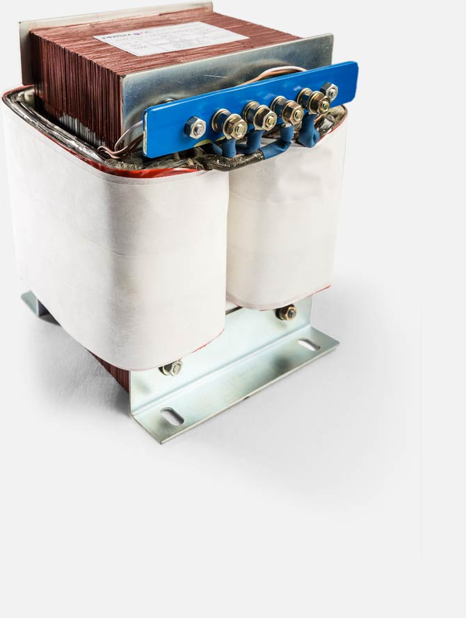Core type 1PH Isolation Transformer